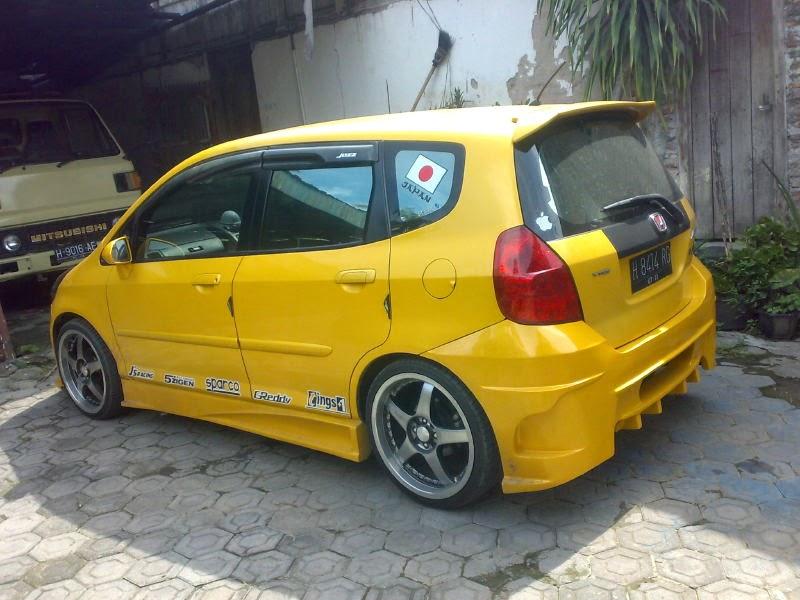 modifikasi mobil Honda jazzgd3