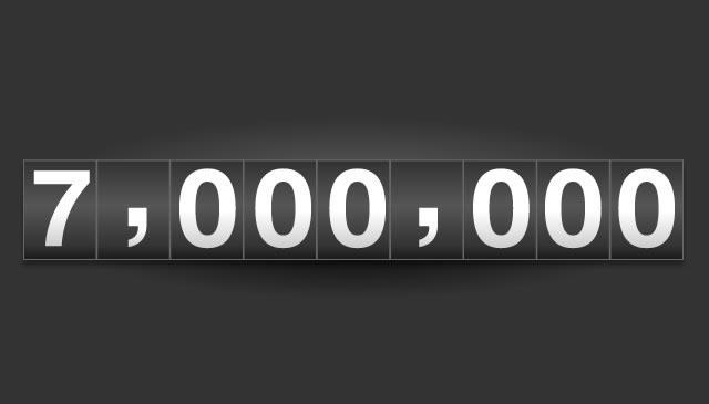 7 MILIONI di VISITE per MiL!