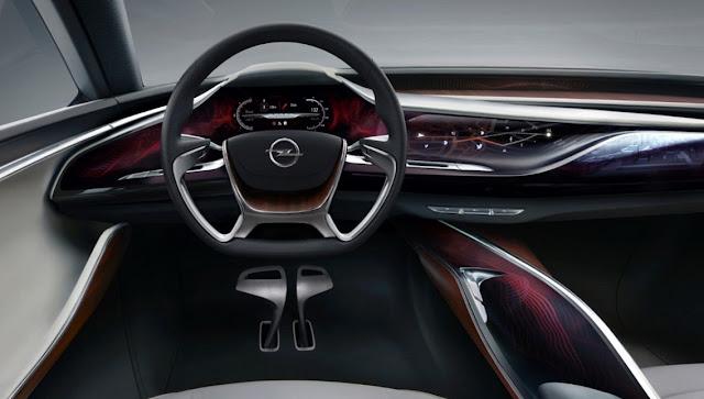 2017 Opel Morza Interior