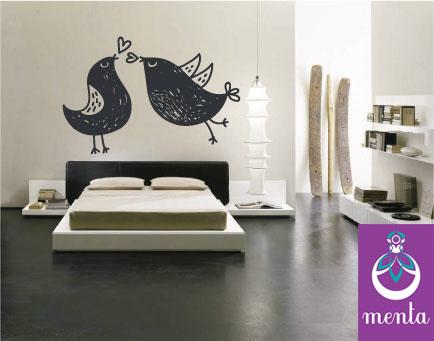 Menta dise o vinilos decorativos para habitaciones for Diseno vinilos