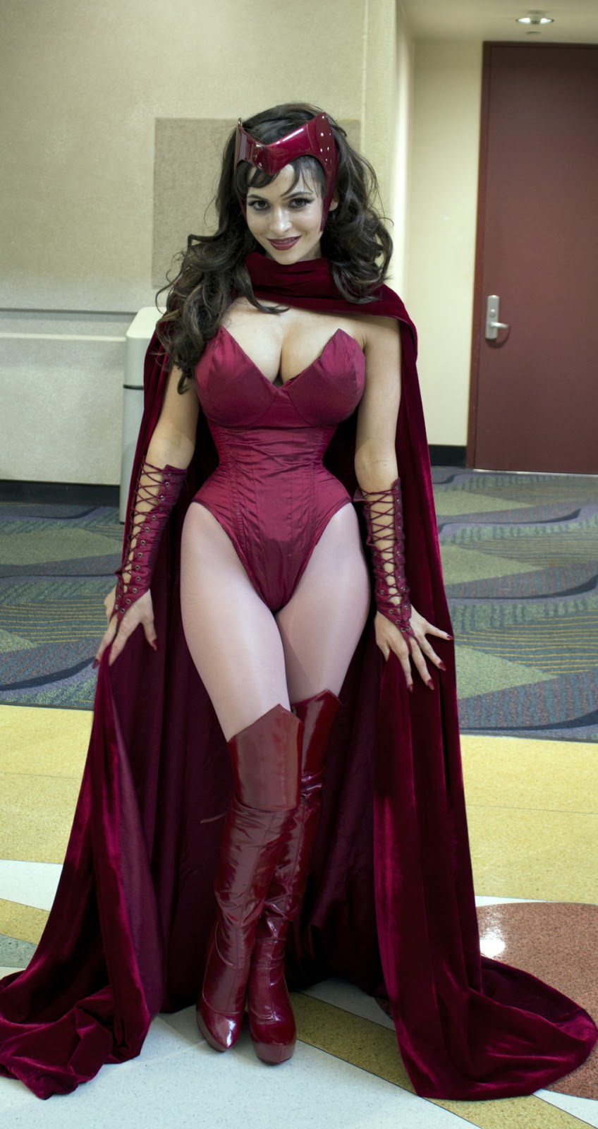 Character: Scarlet Witch Comic: The Avengers, Marvel. Cosplayer ...