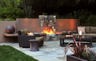 Sprinkler Juice: Contemporary Patio Ideas