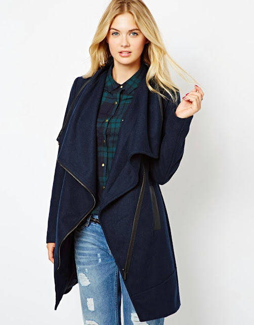 zip trim coat