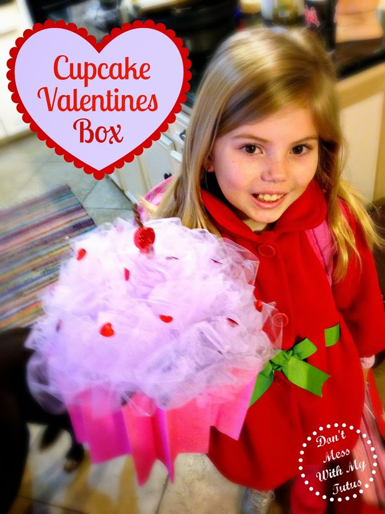 supplies - Cupcake Valentine Box