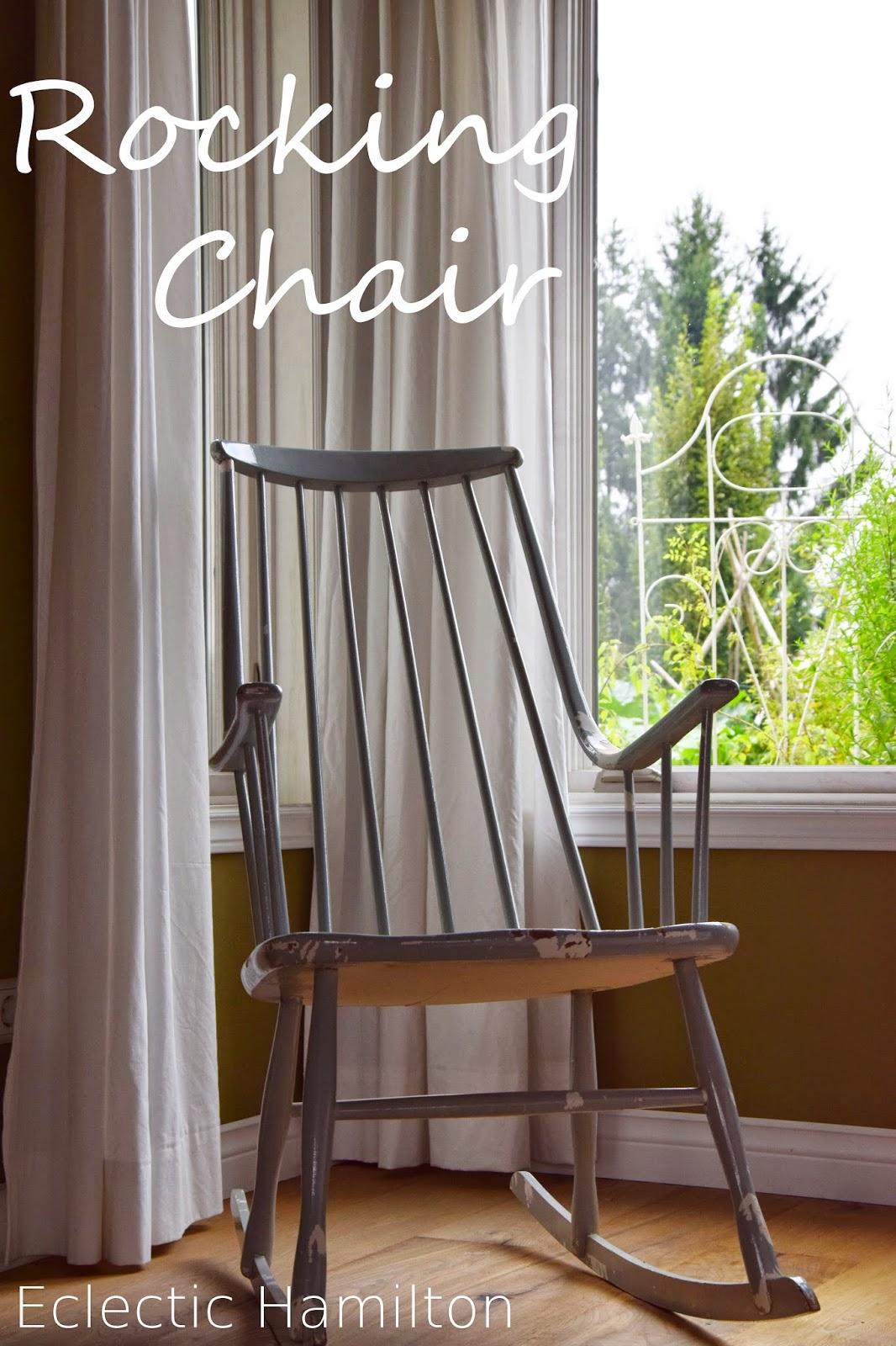 Eclectic hamilton living room love wohnzimmer impressionen for Schaukelstuhl diy