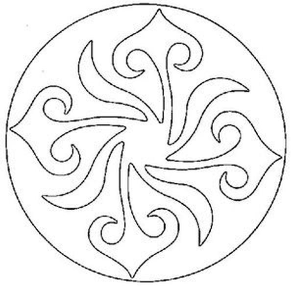 Mandalas Para Pintar: septiembre 2013