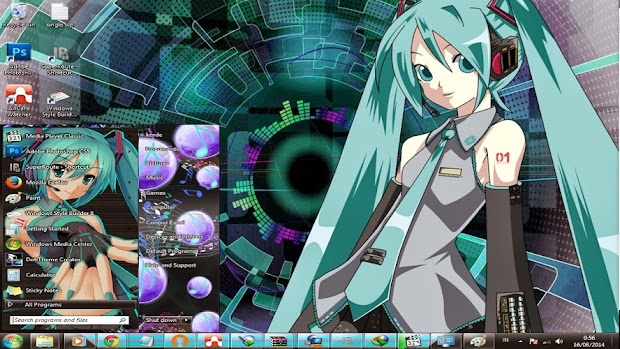 anime themes for pc computer hatsune miku