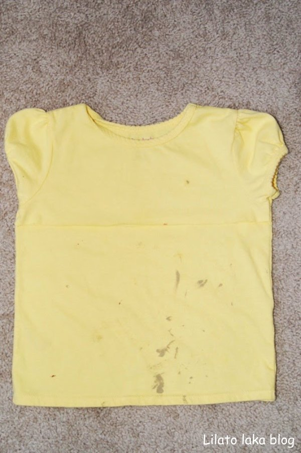 how to get deorderent stains off teeshirts
