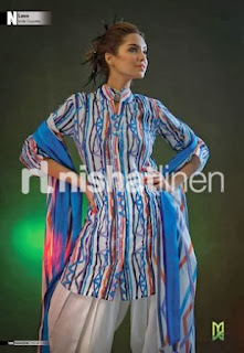 Nishat linen open shirt fashion