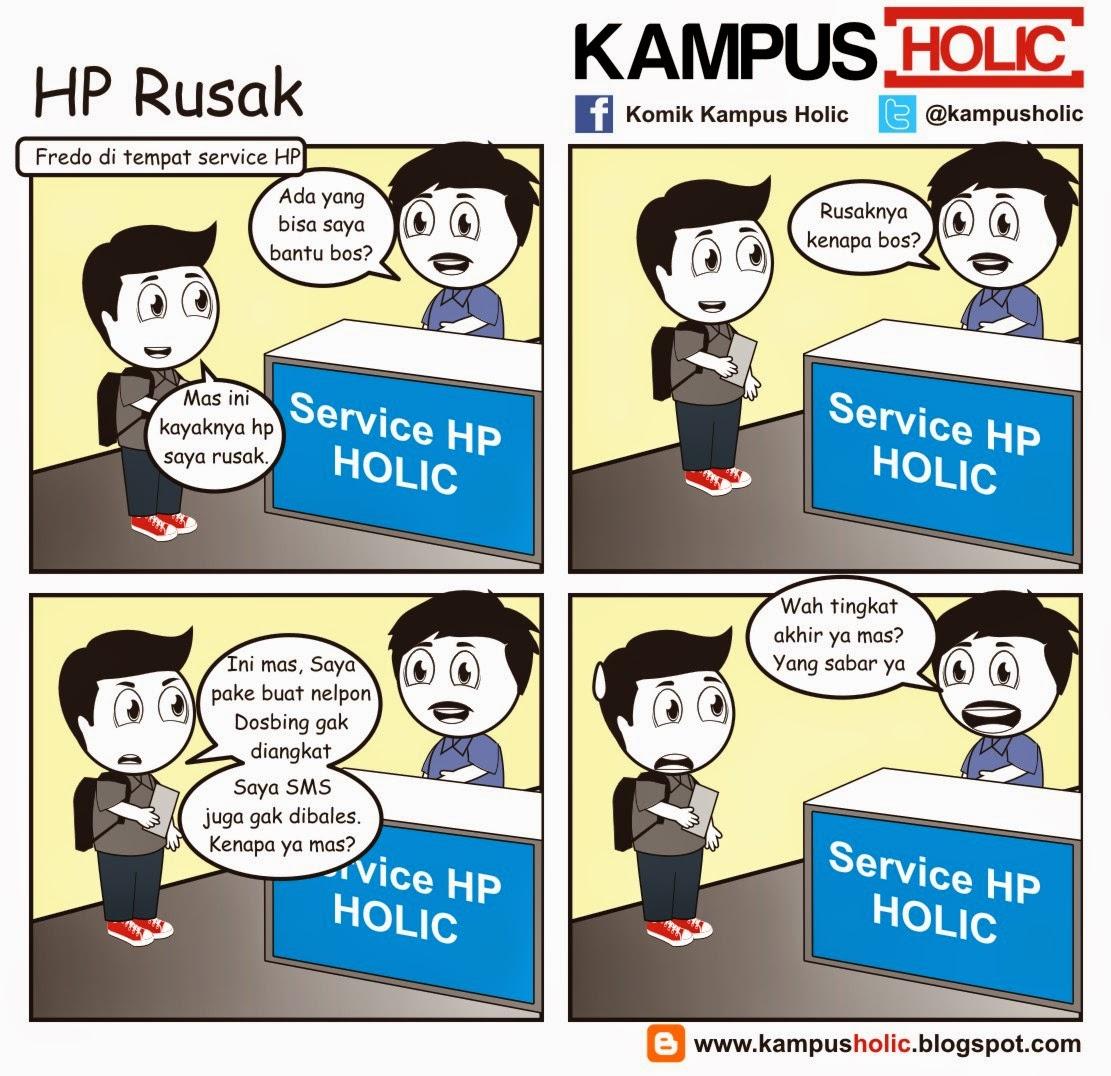 #798 HP Rusak
