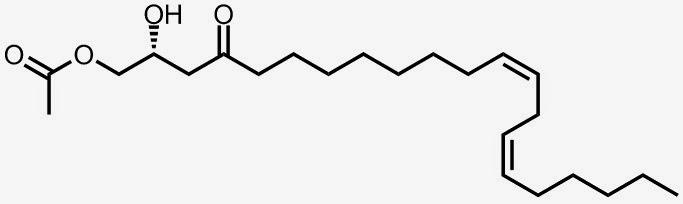 persina: (R, 12Z,15Z)-2-Hidroxi-4-oxohenicosa-12,15-dienil acetato