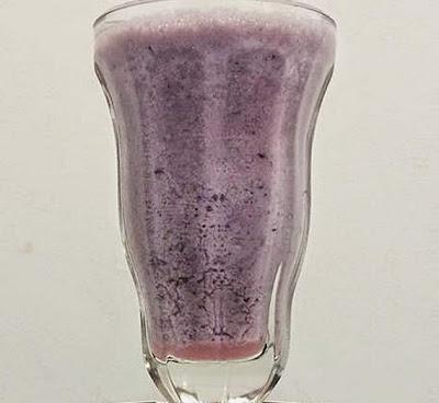 Shake de Whey Protein de Frutas Vermelhas (Mais Você)