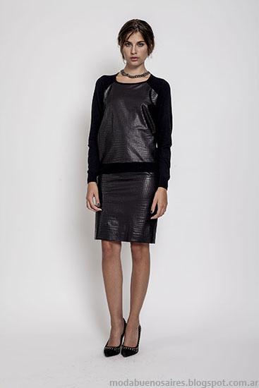 Moda invierno 2015 ropa de Janet Wise.