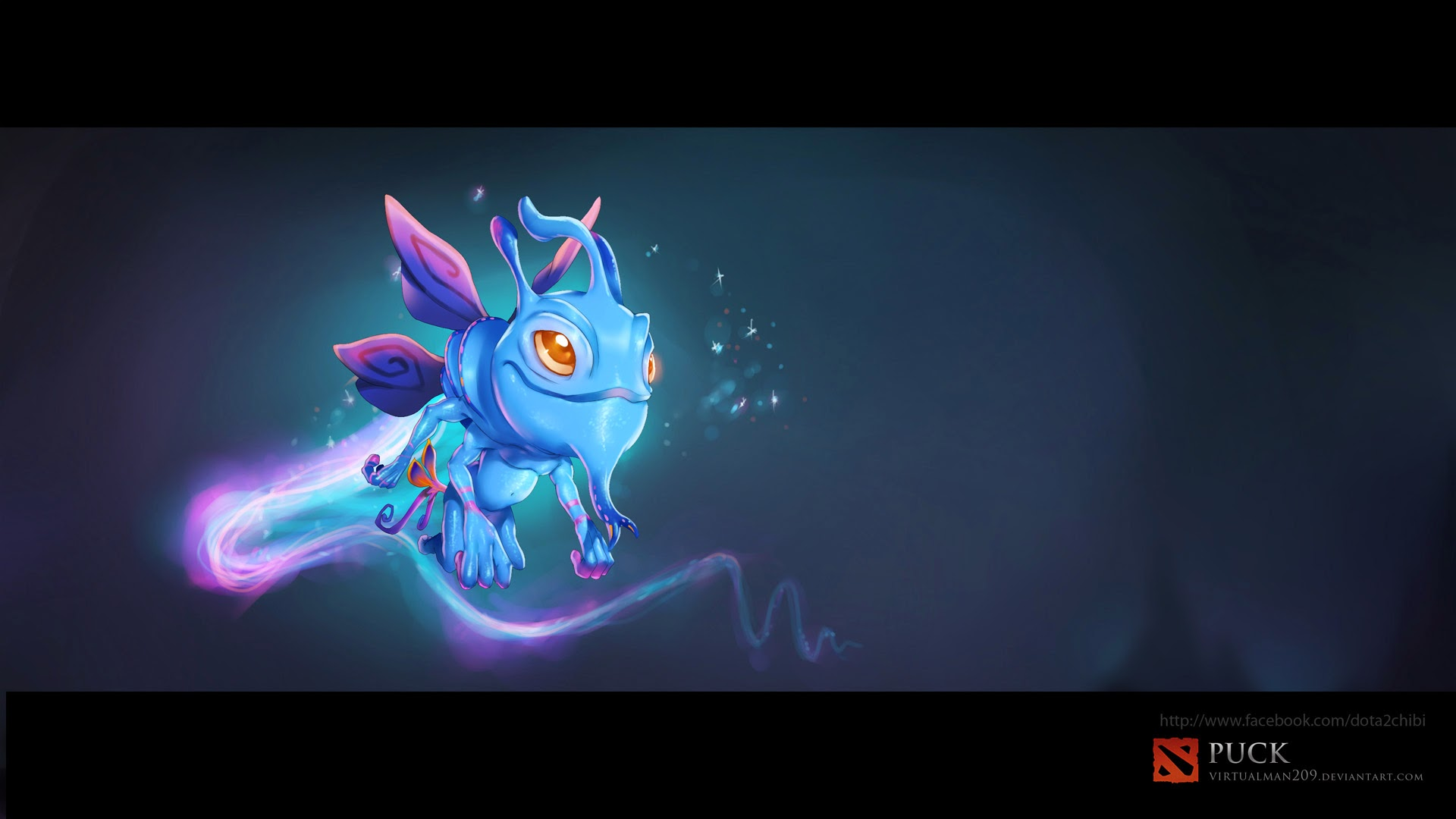 Puck Dota 2 h5 Wallpaper HD