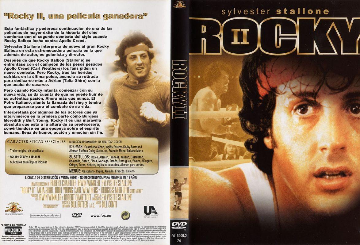 Rocky 2 DVD