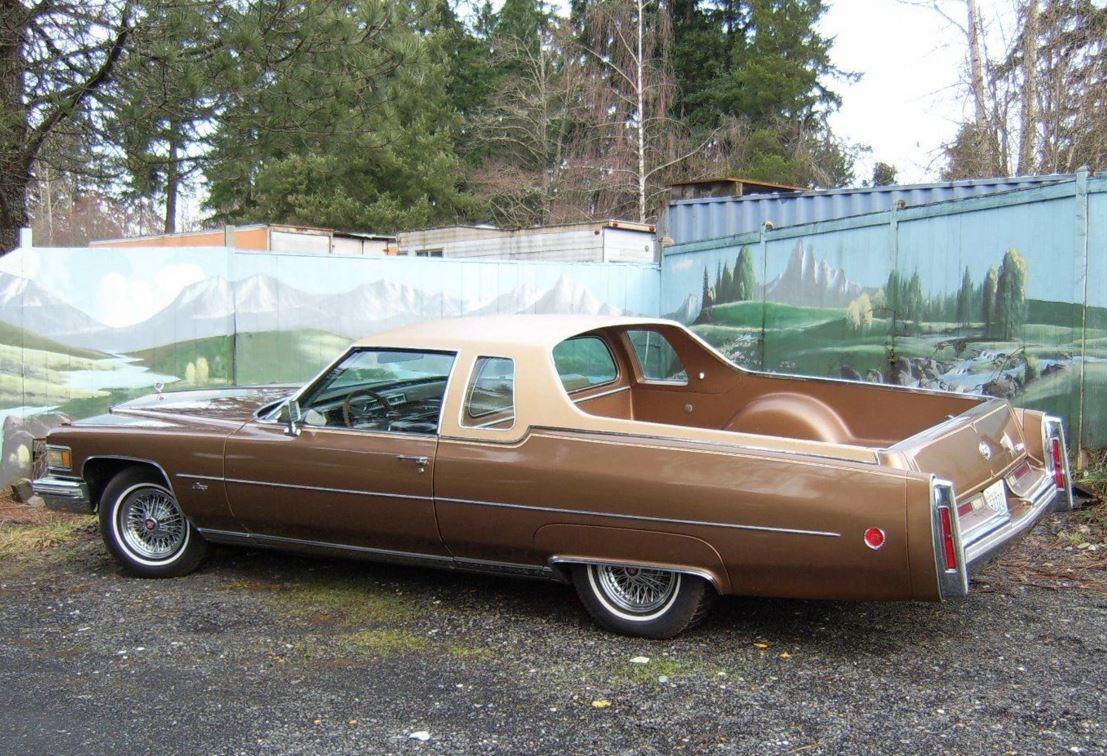 M E M O 1976 Cadillac Deville Mirage El Camino For Sale