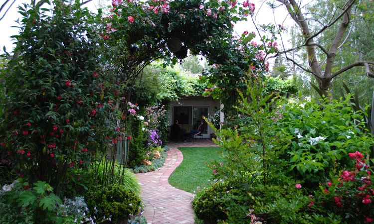 Garden Bloggers Fling: Rebecca Sweet\'s Garden