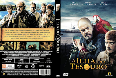 A Ilha do Tesouro DVD Capa