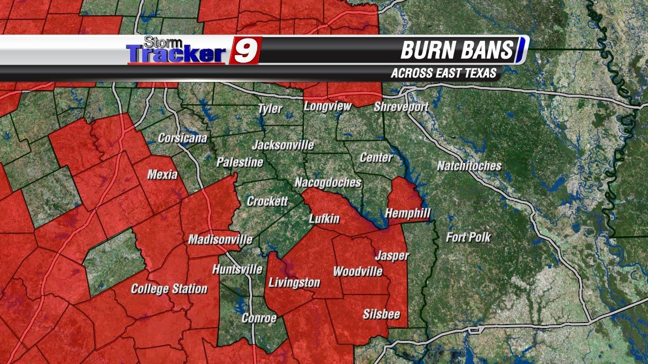 more burn bans lifted but we need more rain