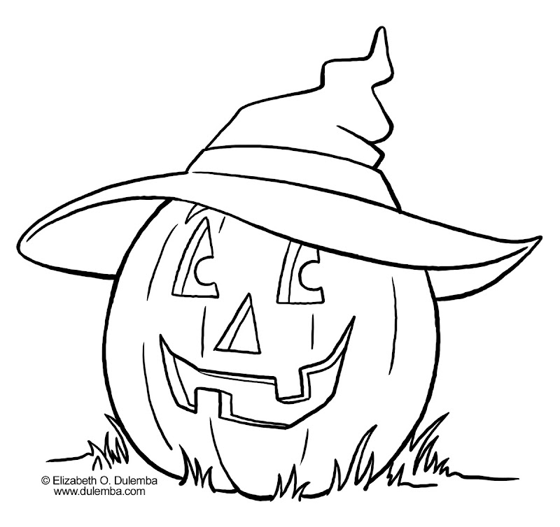Halloween Coloring Pictures title=