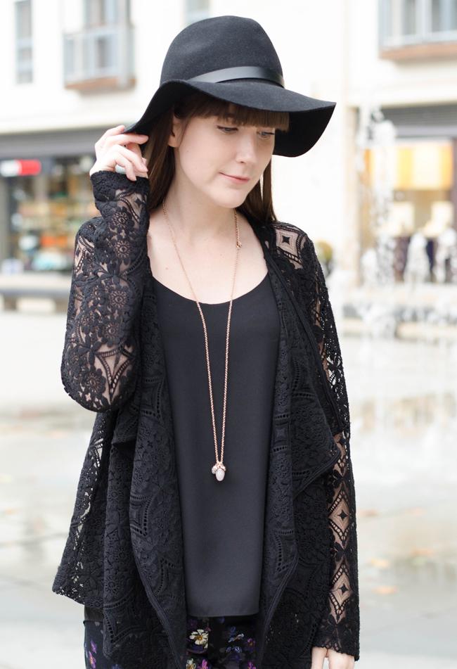 Next Black Lace Cardigan