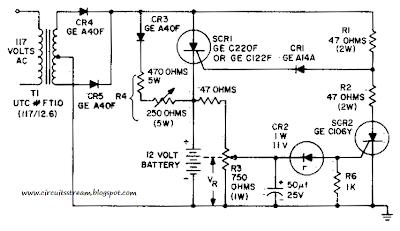 2014 electical circuit simple battery charging regulator circuit diagram