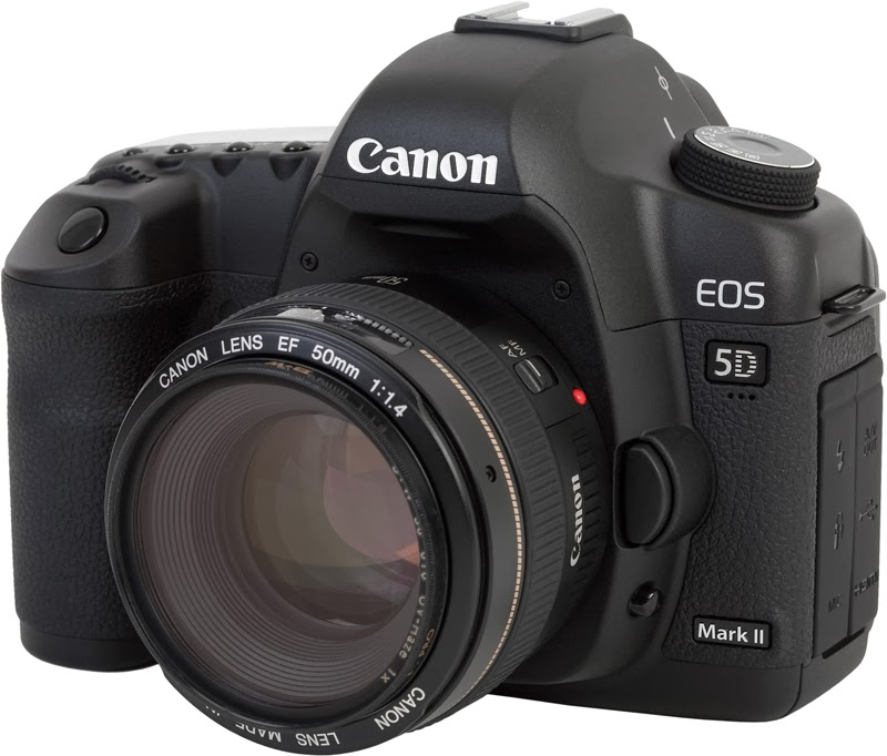 Canon 5D Mark II DSLR for digital filmmaking
