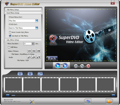 video editing software windows | SuperDVD Video Editor