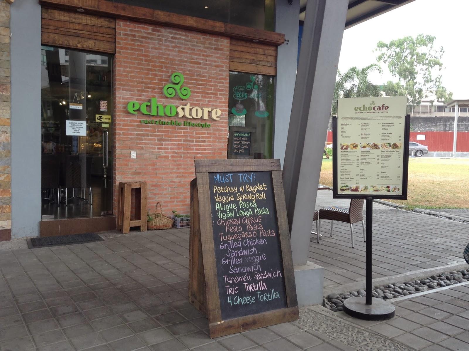 Ecostore's echocafe at Centris walk