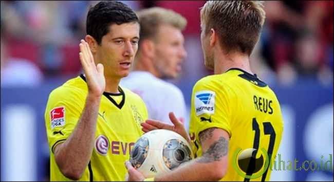 Robert Lewandowski & Marco Reus (=2)