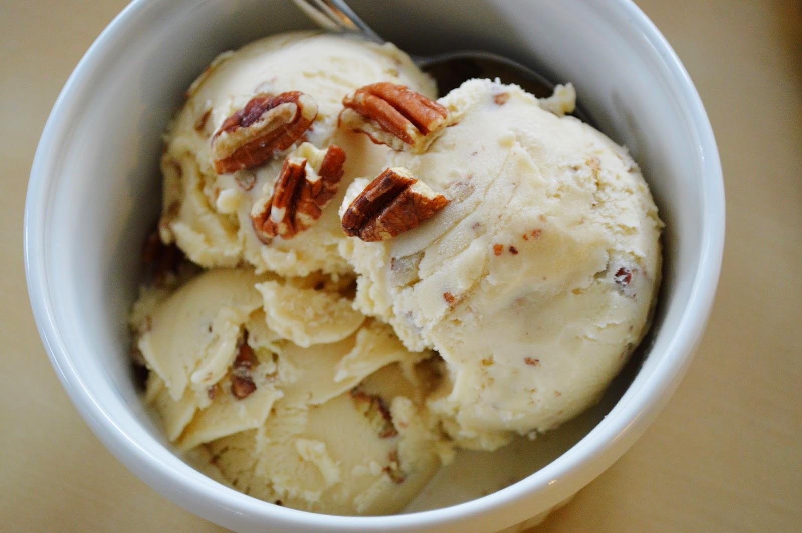 The Art of Comfort Baking: Butter Pecan Ice Cream