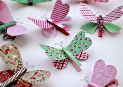 Más manualidades...... y otras cosas: mariposas