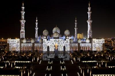 Masjid Agung Sheikh Zayed, UEA, sewa villa di batu