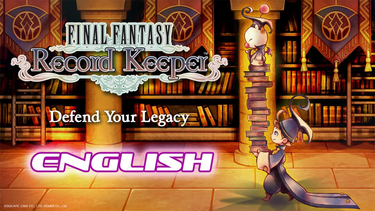 FINAL FANTASY Record Keeper English Gameplay IOS / Android