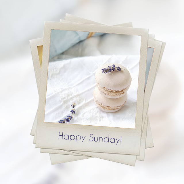 weekend, Happy Sunday, Macarons