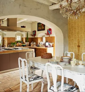 The beauty of a Tuscan Kitchen