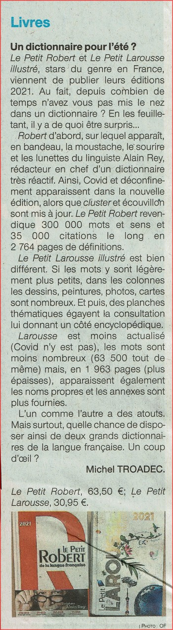 Ouest-France (3/07/2020)