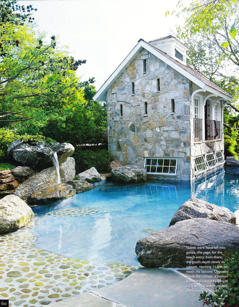 Boulders Around Pool Boulders Around Pool Coping & Boulders Ricorock® Incglamorous