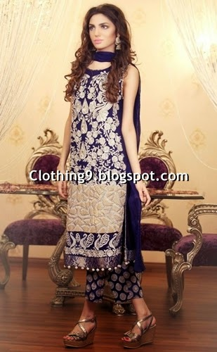 Pakistani Designer Clothing Replica Kanav Boutique Eid Dresses