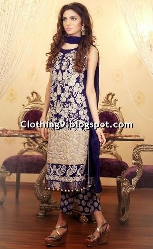 Pakistani Designer Clothing Replica Kanav Boutique Eid Dresses