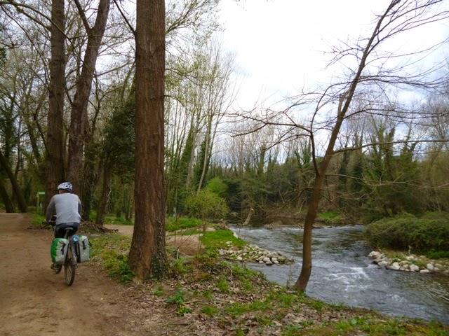 Siguiendo el río Ter