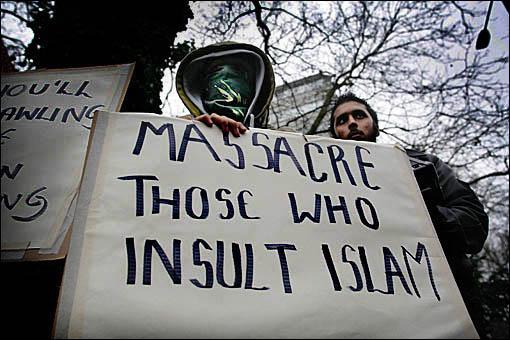 Religion of Peace Islam - Massacre Those who Insult Islam