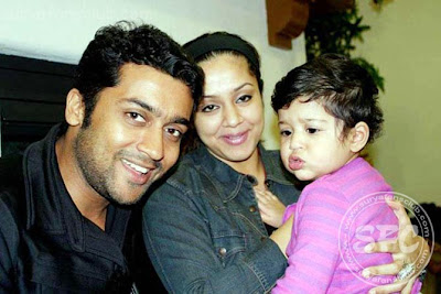 Jyothika Surya and baby Stills