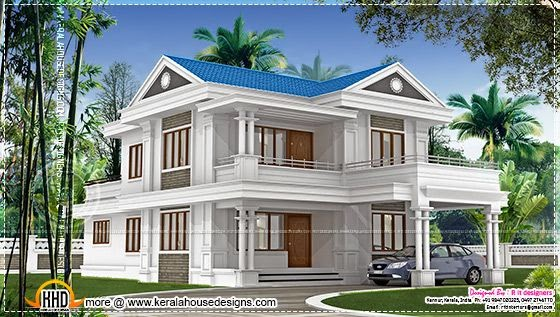 Double storied villa