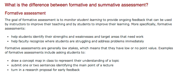 So As To Keep Those Proponents Of Exams Happy, Here Is The Summative  Description