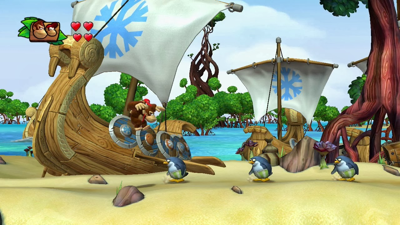 Tropical Freeze Wii U