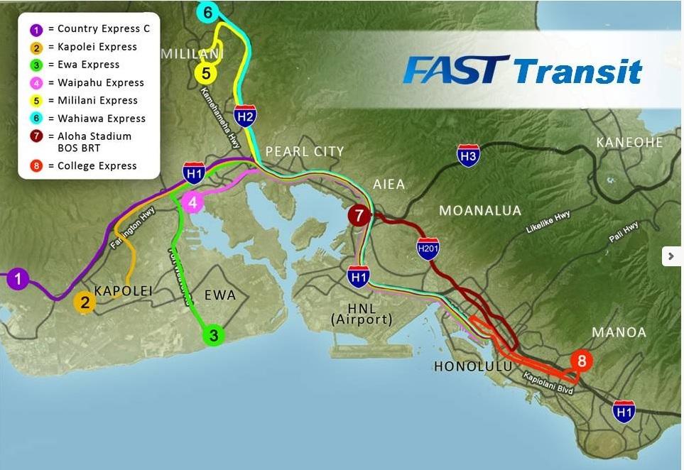 All Hawaii News: Cayetano unveils 'FAST' rail alternative, Hawaii