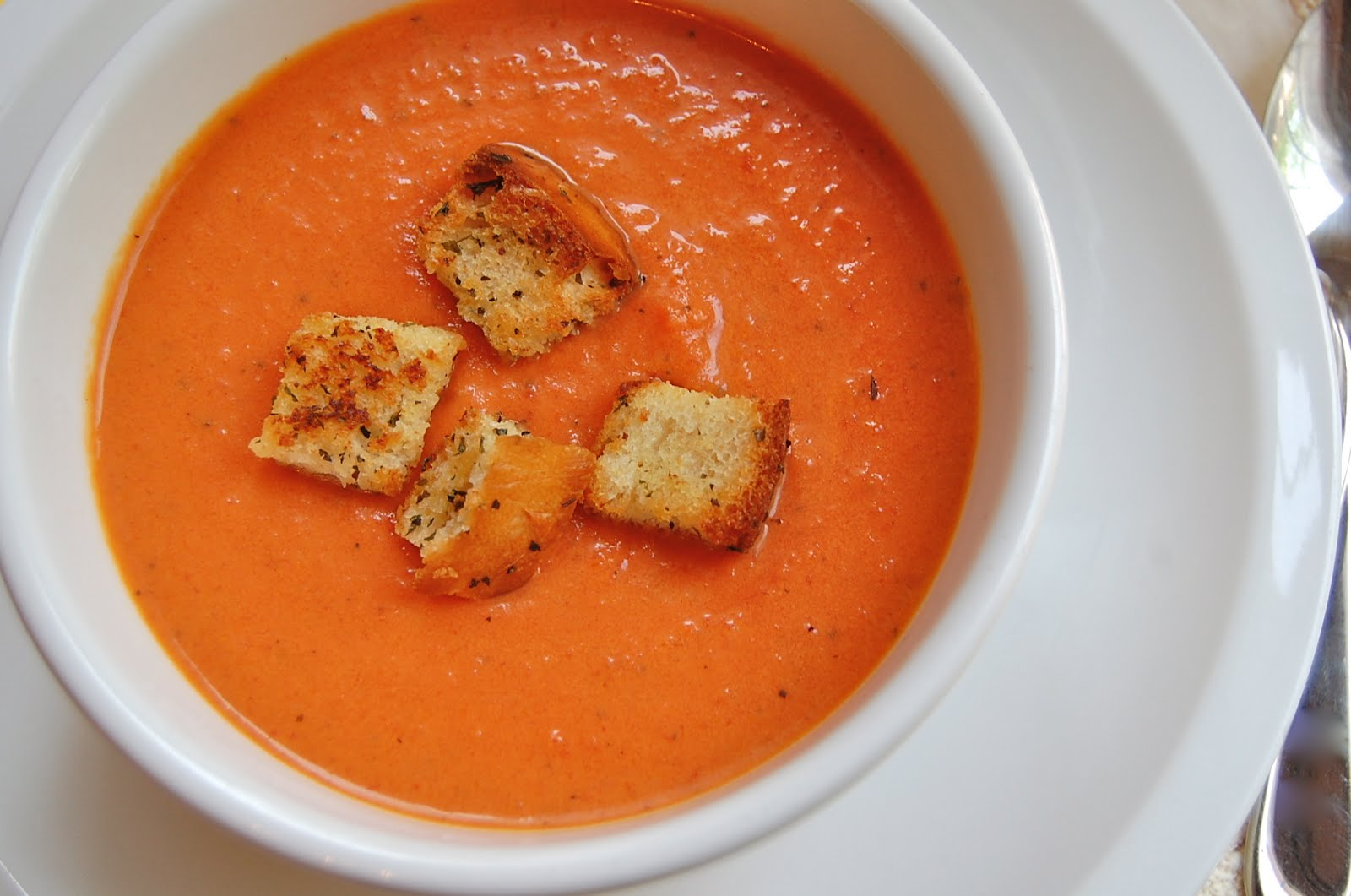 Chef Mommy: Nordstrom's Cafe Tomato Basil Soup