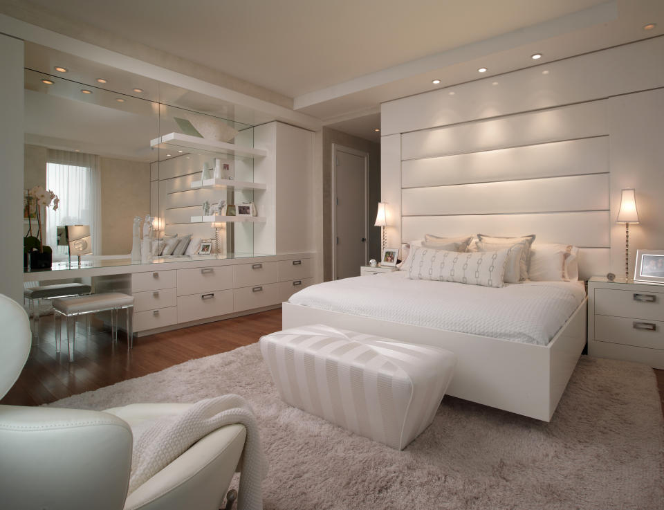 Home Lighting Ideas New Of White Bedroom Luxury Apartment Images