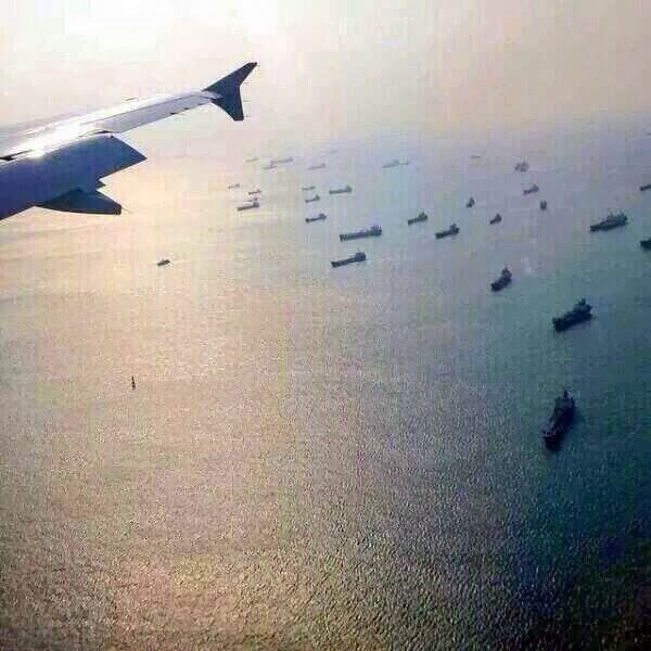 South China Sea From Top